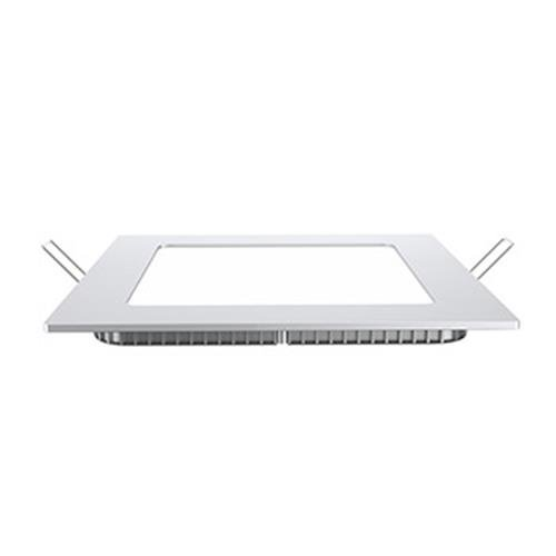 12 Watt LED plafond paneel inbouw raster verlichting neutraal wit woonkamer kantoor kamer aluminium lamp V-Tac4867