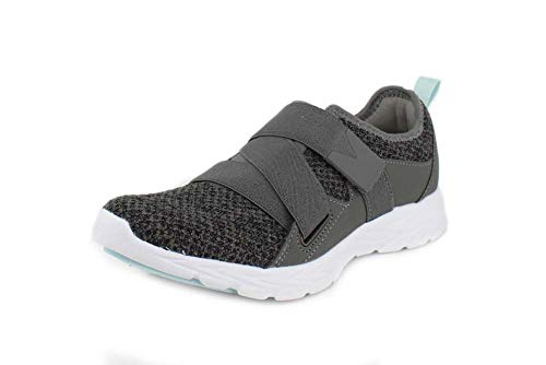 Vionic Women's Brisk Aimmy Walking Shoes - Ladies Athleisure Shoe with Concealed Orthotic Arch Support Charcoal 7.5 Wide US