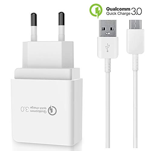 test Qualcomm 18W quick charger + XIAomi Mi10 / Mi10 Pro / Mi compatible XXL Type-C USB charging cable… Deutschland