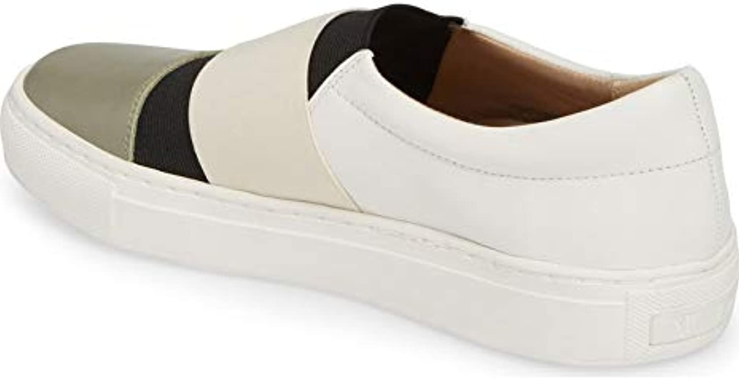 NIC+ZOE Mens Isla Leather Low Top Slip On Fashion Sneakers