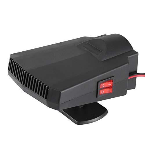 Keenso 12V Ventilador y Calefactor para Desempañador Coche