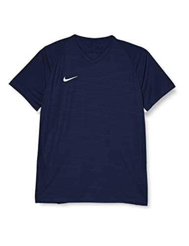 Nike 894230-411 Maillot de football à manches courtes Homme, - Bleu - FR : XL (Taille Fabricant : XL)