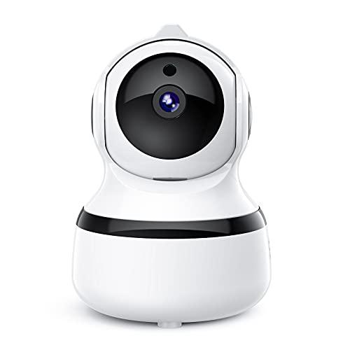 Dome Camera Telecamera di sorveglianza per interni con immagine FHD 1080P 1080P,audio a 2 vie,visione notturna,rilevamento del movimento,scheda TF e archiviazione cloud,telecamera di sorveglianza