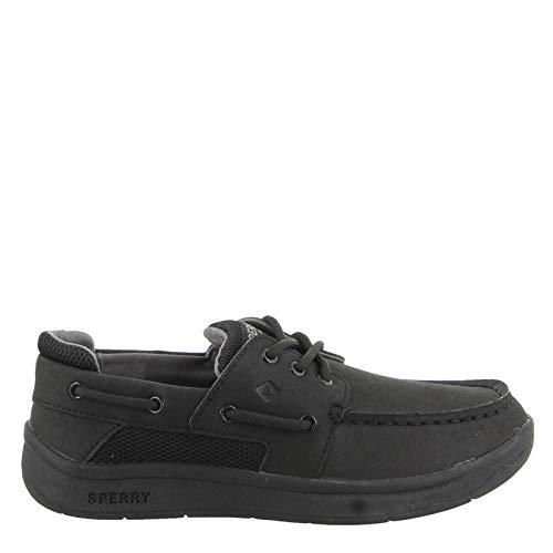 Boy's Sperry, Convoy Boat Shoe - Little Kid & Big Kid Black 6 M