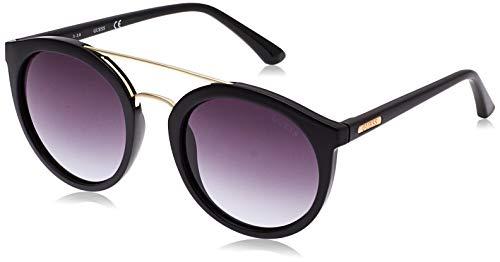 Guess GU 01B 52 Monturas de gafas, Negro (Negro LucidoFumo Grad), 52.0 Unisex Adulto