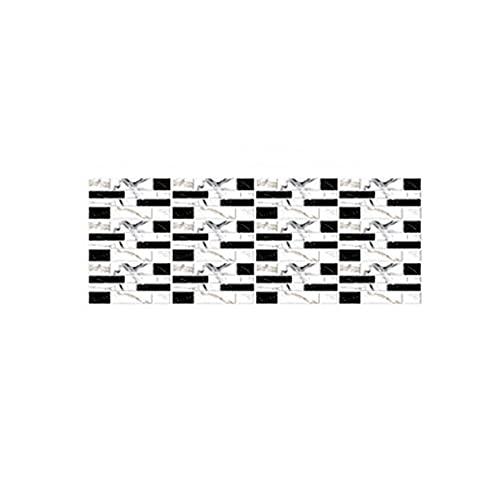 Kaijia Pegatinas para azulejos 3D, impermeables, autoadhesivas, para decoración creativa, diseñada para cocina, baño