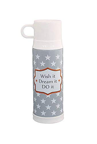 Krasilnikoff Happy Mugs Thermoskanne Wish it, Dream it, do it Isolierkanne TF66