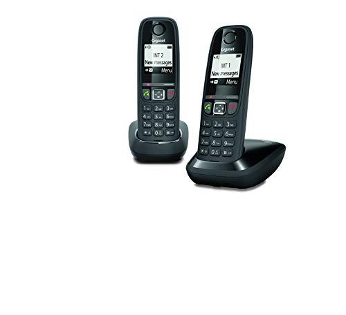 Gigaset AS470 Duo - Teléfono (Teléfono DECT, Terminal inal