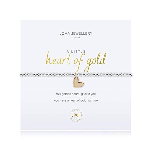 Joma Jewellery a Little Heart of Gold Bracelet