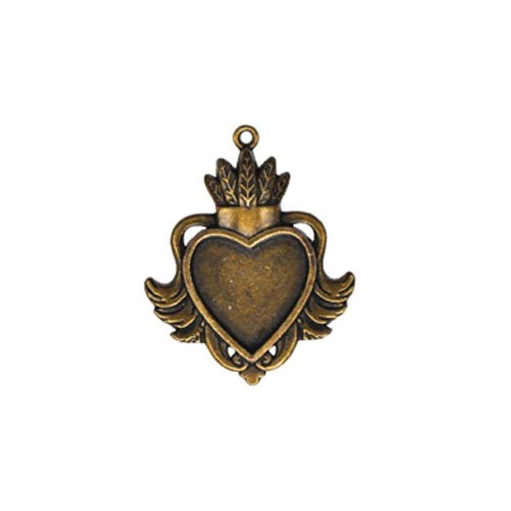 Spellbinders GLLB-001 A Gilded Life Heart Bezel, Large - Silver