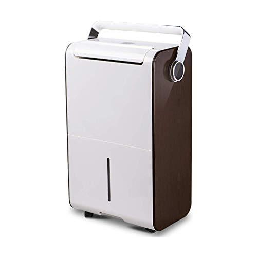 GGRYX Deshumidificador Purificador Aire, 6L, Deshumidificador Electrico Pantalla Digital Tanque De Agua Extraíble, Deshumidificador Aire para Habitaciones como El Hogar,Brown