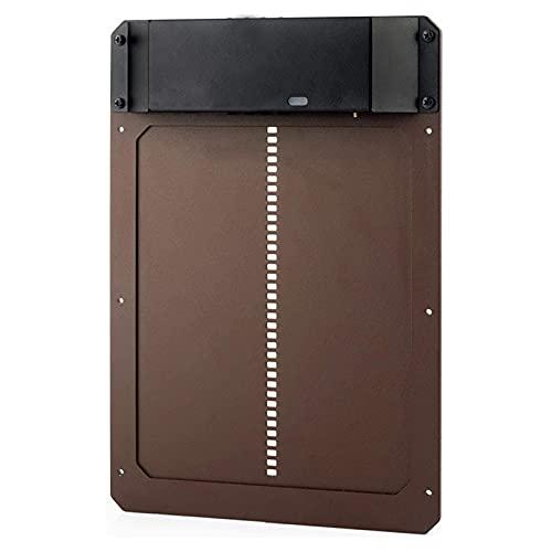 A/A MOTINGDI puerta automática de la casa de pollo con sensor de luz resistente a la...