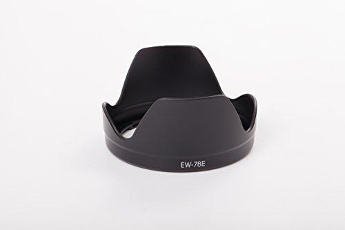 vhbw Capucha Lente Compatible con Canon EF-S 15-85mm f/3.5-5.6 IS USM Objetivo con Rosca Interna 72 mm - Parasol Objetivo, Negro