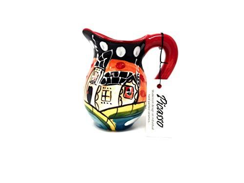 Verano Spanische Keramik Picasso – Mini-Krug (12 cm Höhe)