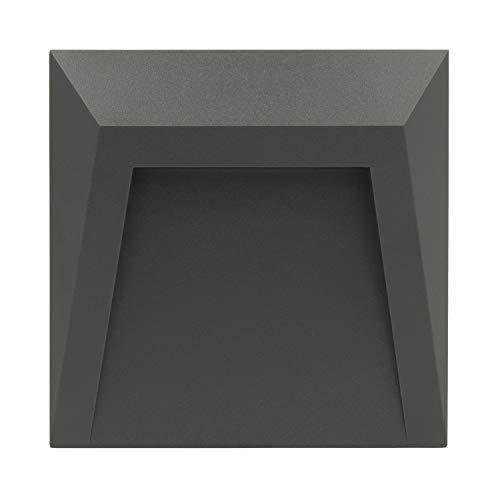 Baliza LED de Superficie Clover IP65 1.5W Gris Blanco Cálido 3000K