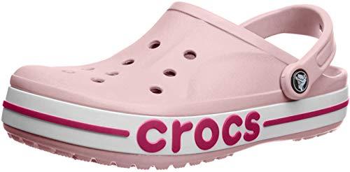Crocs Damen Men's & Women's Bayaband Clog, Blütenblatt Pink/Candy Pink, 41/42 EU