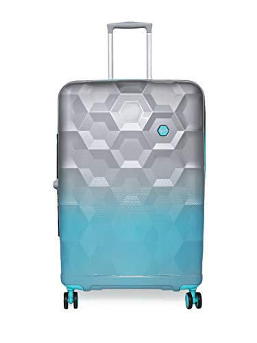 VIP Polycarbonate 80 cms Silver Hardsided Check-in Luggage (Fairway)