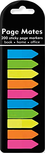 Neon Arrows Page Mates (Set of 200 Sticky Notes)