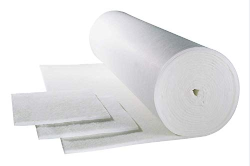 Luftfiltermatte G2-G3-G4 (EU4) 1m x 2m, 10 bis 20mm wählbare Filtermatte Filterflies (EN 779) (G3)