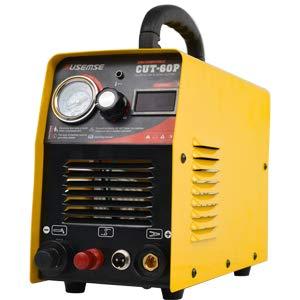 プラズマカッター デジタル制御プラズマ切断機200Vインバーターエアープラズマ切断機 IGBTモジュール最大カット厚さ:18MM CUT60P