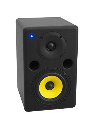 Omnitronic PNM-5 Nahfeld-Monitor   Aktiver 2-Wege-Lautsprecher mit 8