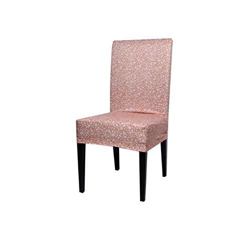 ASVNDD Spandex Elastic Druck Dining Chair Slipcover Moderne Abnehmbarer Anti-schmutzig Küche Sitz Fall Stretch-Stuhl-Abdeckung for Bankett (Color : 7, Specification : Universal)