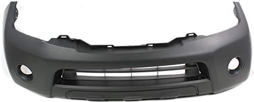 Front Bumper Cover Compatible with NISSAN PATHFINDER 2008-2012 Primed S/SE/SE Off-Road Models - CAPA