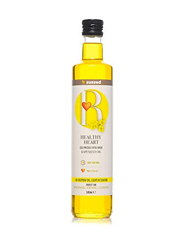 sussed Healthy Heart Cold Pressed Extra Virgin Rapeseed Oil 500ml