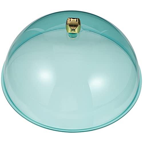 Cabilock Tapa de plástico para tartas, campana de cristal, quesos, tapa de cristal, tapa de cristal, tapa para tartas, tapa de cristal, tapa de alimentos, tapa para alimentos