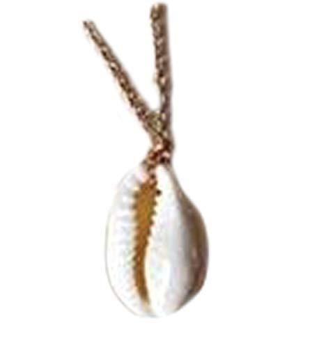 heng yuan tian cheng Kette Halskette in Vergoldet Natur Shell Beach Pool, Creative Jewelry Muscheln Strand Urlaub