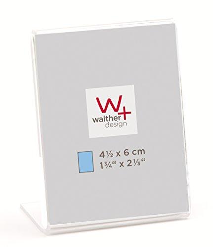 walther design AS4560 Acryl Rahmen, 4,5 x 6 cm Hochformat