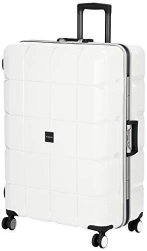 [リミニ] スーツケース ナクシオンFR 90L 6.1kg ホワイト