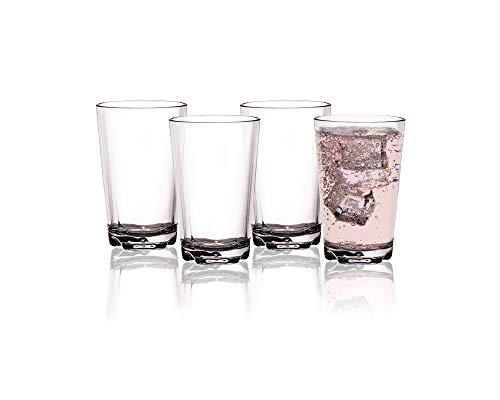 BRUNNER Tritan Trinkgläser Mehrweg Trinkbecher 0,3l, BPA-frei, unzerbrechlich, Kunststoff