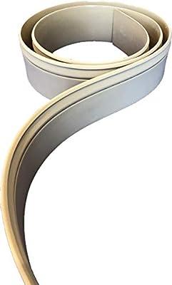 "FLEXTRIM #WM610 (CM610): 9/16"" Thick x 5.25"" Tall Flexible Base Molding - 12' feet Long"
