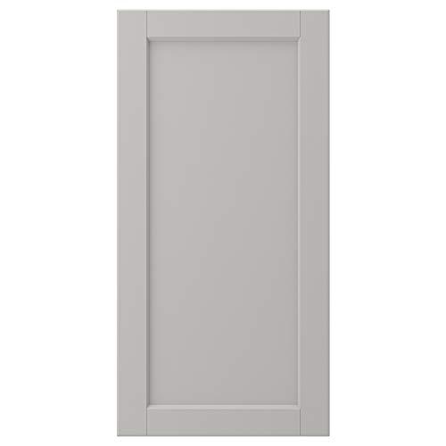 LERHYTTAN dörr 40 x 80 cm ljusgrå
