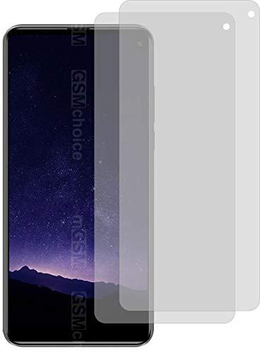 4ProTec I 2X Crystal Clear klar Schutzfolie für Cubot Max 2 Bildschirmschutzfolie Displayschutzfolie Schutzhülle Bildschirmschutz Bildschirmfolie Folie