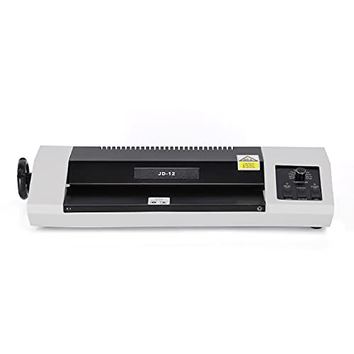 JD9 Lamination Machine- Fully Automatic Professional Laminating Machine/Laminator for Upto A3 Size with Hot and Cold Lamination(Photos ID,I-Card,Certificate) Off- White