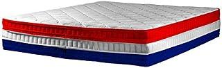 Colchón Egalité 135x200 25 cm de espuma viscoelástica de alta densidad con apoyo equilibrado y comodidad superior