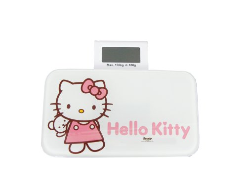 Hello Kitty HK-Scale-Mini 001 Báscula personal electrónica Baby
