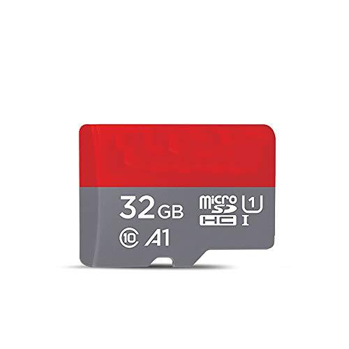Geheugenkaart, draagbaar128 GB Microsdxc geheugenkaartlezer Flash Card A1 app-prestaties tot 100 MB/S, klasse 10, U1 koud- en hittebestendig