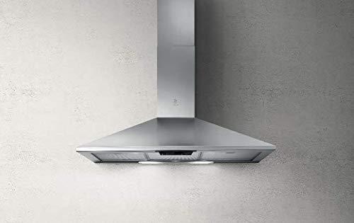 Elica Missy LX IX/A/90 Wand-Dunstabzugshaube, Edelstahl, 400 m³/h, Kanalisiert, 59 dB, 47 dB, 59 dB, Wand)