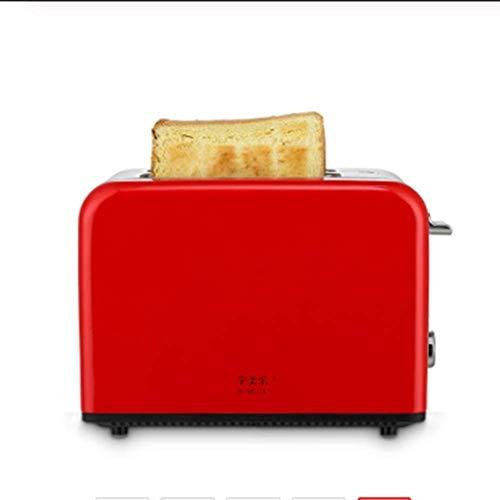 Edelstahl Brotbackautomat Elektrischer Toaster Kuchen Toast Sandwich Ofen Grill 2 Scheiben Automatische Frühstücksbackmaschine Eu