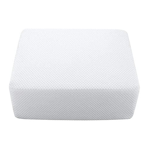 Almohada Cube, Almohada de Espuma Viscoelástica Ergonómica Fullyday, Almohadilla Suave Suave Elástica Diseñada para Su Cabeza, Almohada de Soporte para el Cuello para Protección Vertebral