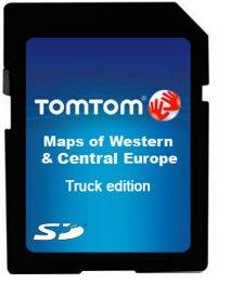 TomTom Truck-Navigation (WE-CE Karte auf microSD) V2 für TomTom GO
