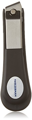 Tweezerman Professional Deluxe Toenail Clipper Grooved To Catch Clippings