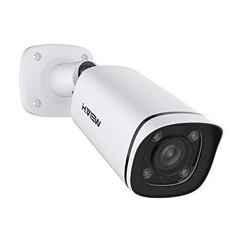4K PoE Kamera 8MP IP Sicherheitskamera(3840x2160P) mit 4X Optischer Zoom 2,7mm-13.5mm Motorisierter Zoom und Fokus Indoor/Outdoor IP67 Wetterfest Onvif Netzwerk Überwachungskamera mit Audio