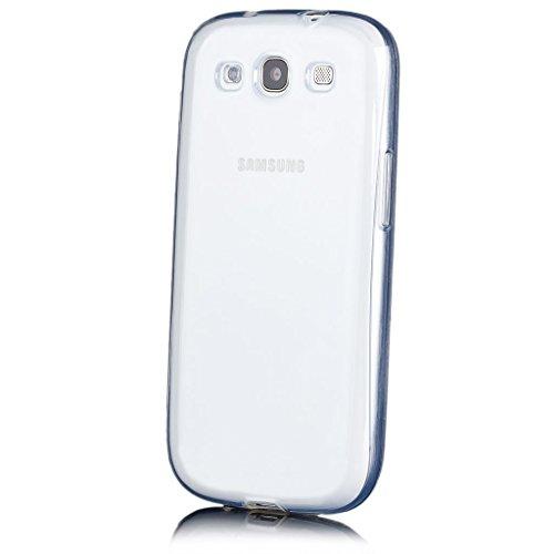 iCues   Samsung Galaxy S3 NEO & S3   trasparente TPU Chiaro   protettore foglio trasparente della cassa della pelle del gel Sereno Sereno si [Screen protector Compreso] Custodia Cover Case Tasca Borsa