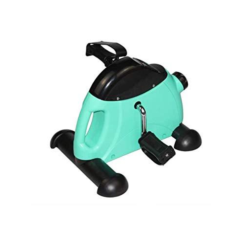 WYKDL El Ejercicio elíptica Trainer - Compacto de Alta Gama elíptica for el hogar o la Oficina -Desk Paso a Paso con la Resistencia Ajustable - Asiento turística elíptica