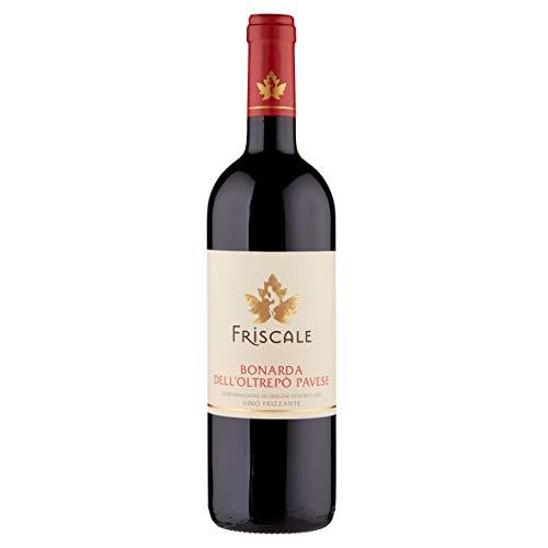 Bottiglia di FRISCALE Bonarda dell'Oltrepò Pavese DOC Vino Frizzante 75 cl