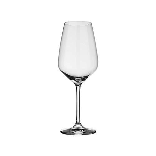 Vivo By Villeroy & Boch Group - Voice Basic Service de Verres à Vin Blanc, 4 Pièces, 356 ml, Verre en Cristallin, Lavable au Lave-Vaisselle